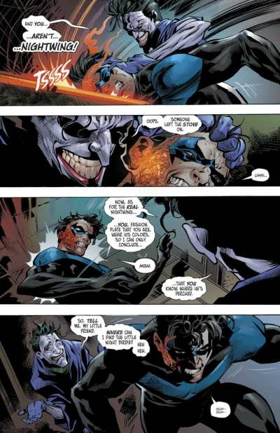 Nightwing #70 Moment