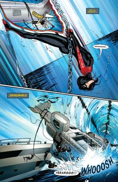 Spider-Woman #1 Moment