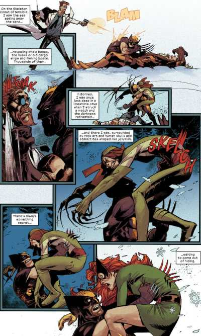 Wolverine #2 Moment