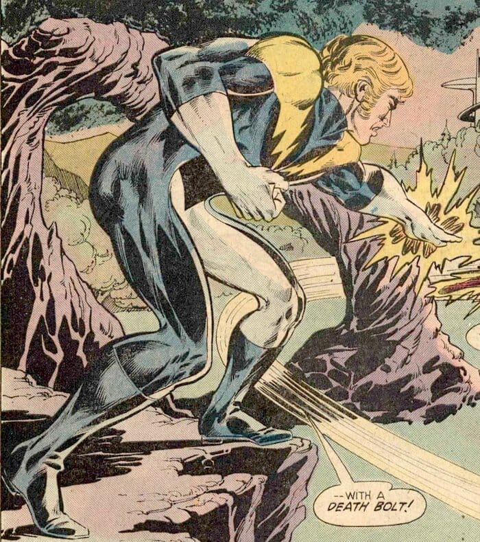 Lightning Lad Legion of Super-Heroes