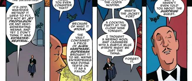 Batman The Adventures Continues Chapter 1 Alfred