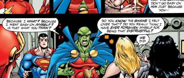 JLA #46 League Discusses Batman Plans