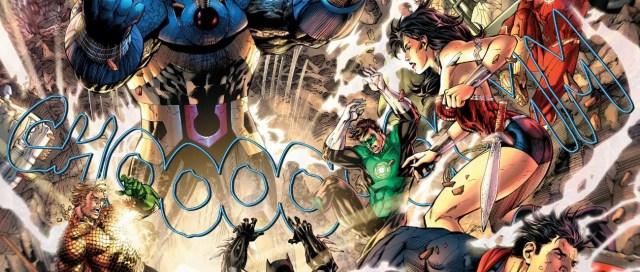 Justice League #4 Darkseid Attacks