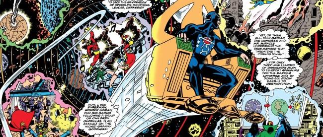 Justice League Of America #185 Metron Crisis Witness