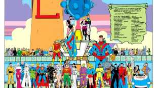 Legion 300 (1983) Legion of Super-Heroes Group Shot