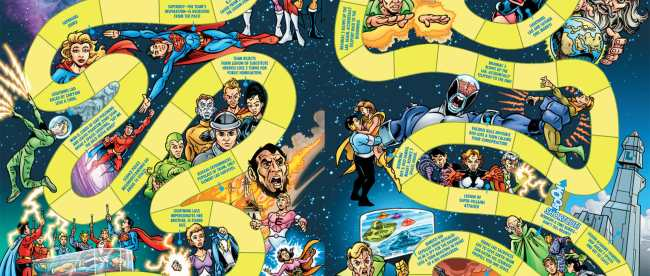 Legion of Super-Heroes Timeline Board Game