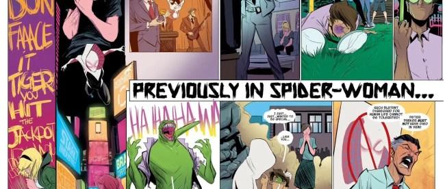 Edge of Spider-Verse 2 Spider-Gwen Origin