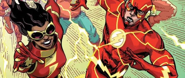 Flash: Fastest Man Alive #4 Cover