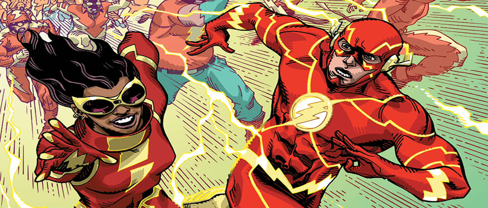 Flash: Fastest Man Alive #4 Review