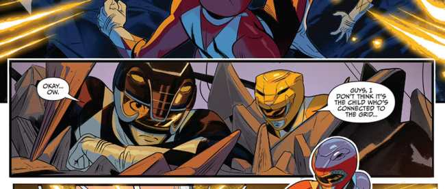 Go Go Power Rangers #31