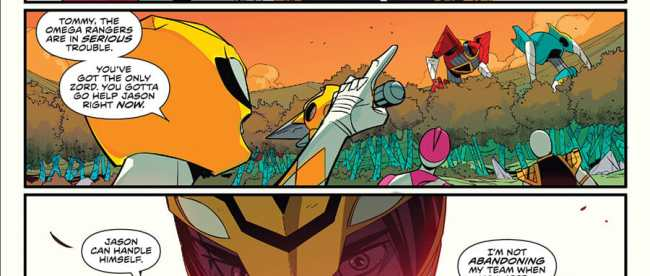 Mighty Morphin Power Rangers #50