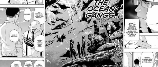 Shonen Jump Hard Boiled Cop and Dolphin Chapter 4 Review