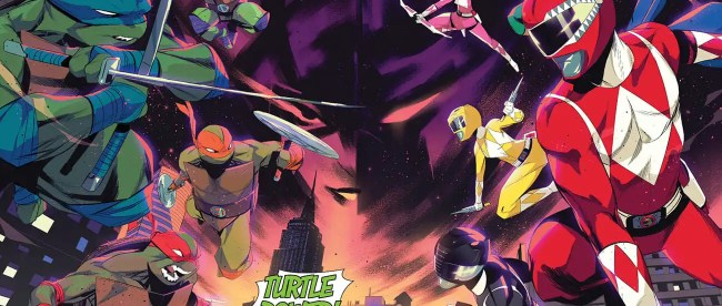 Mighty Morphin Power Rangers/Teenage Mutant Ninja Turtles #1