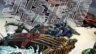 Justice League #55 Doom Metal
