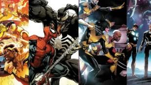 Marvel Comics February 2021 Solicitations Covers