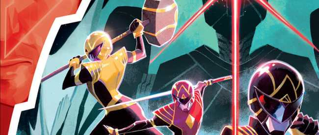 Power Rangers #1 Cover