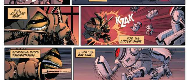Teenage Mutant Ninja Turtles The Last Ronin #1