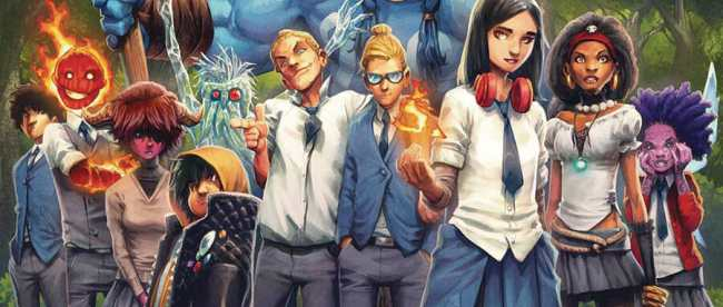 Strange Academy #1 Cover