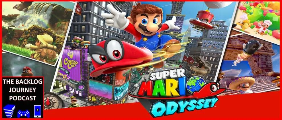 The Backlog Journey Podcast Ep. 7 – Super Mario Odyssey