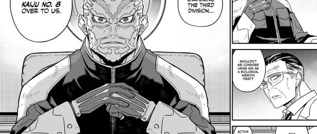 Kaiju No 8 Chapter 33