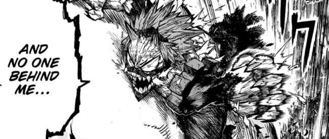 My Hero Academia Chapter 280 Eijiro Kirishima Red Riot