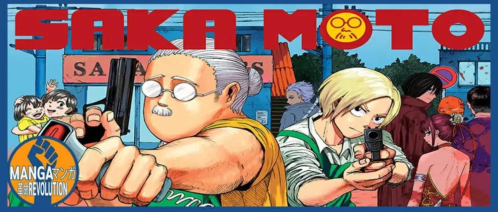 Manga Revolution Podcast Ep. 8: Sakamoto Days Review