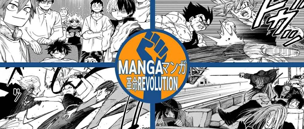 Manga Revolution Podcast Ep. 12 – September 2021 Manga Reviews