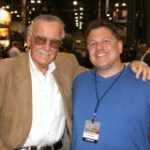 Stan Lee and Buddy Scalera