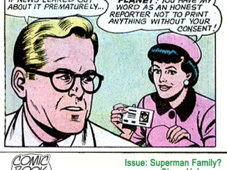Lois Lane honest reporter panel