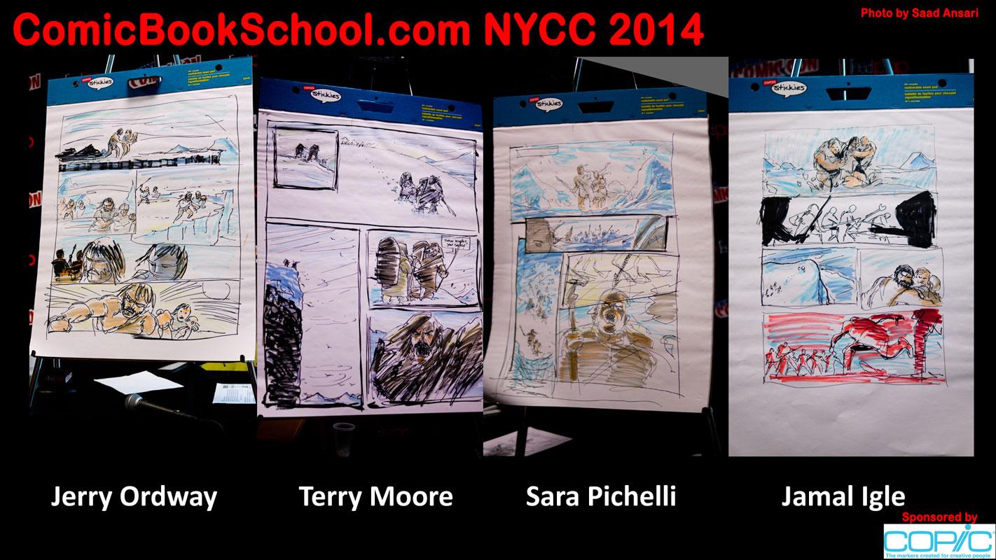 NYCC13-Saad-4drawings