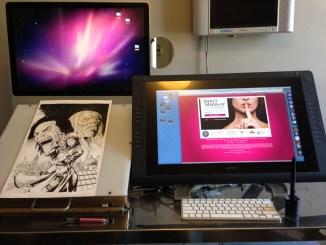 Sean Chen Art Desk