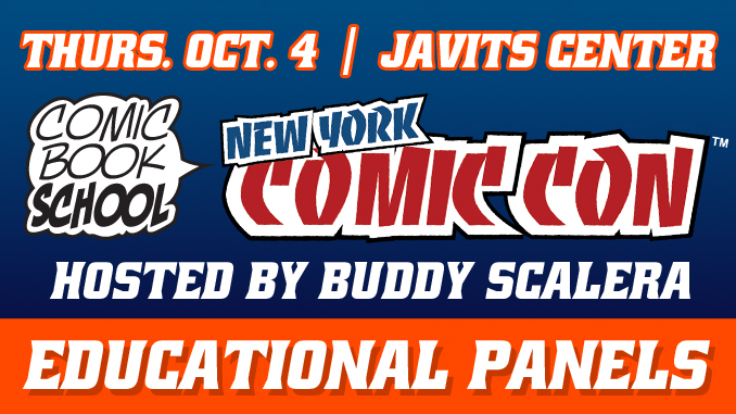 NYCC 2018 Educational Panels