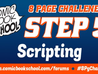 Header image for Scripting step of 8-Page Challenge