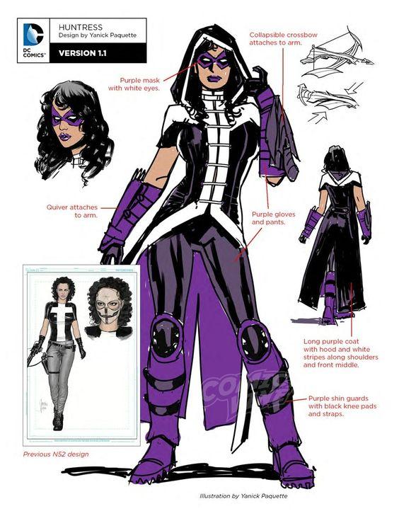 Huntress-Character-Sheet-DCComics