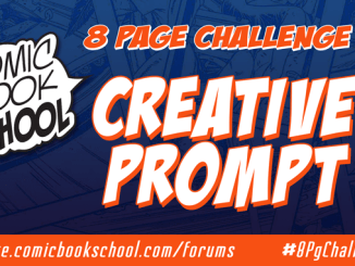 Creative Prompt Header for 8 Page Challenge #2