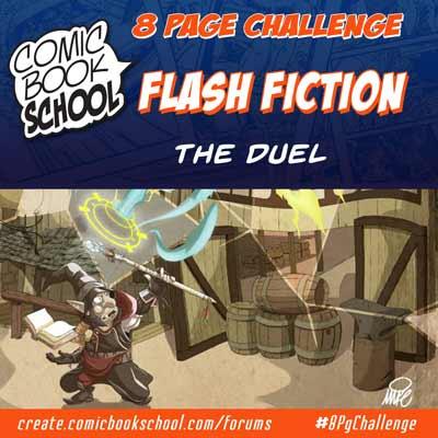 The Dual Flash Fiction Header Image