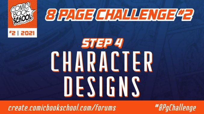 Step 4 Character Designs header