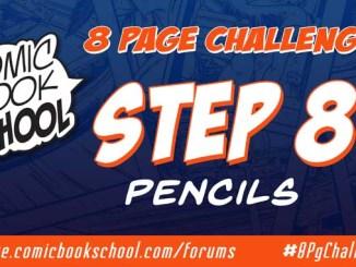 Step 8 - Pencils header