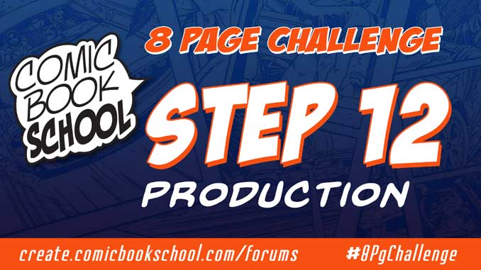 Header image for Step 12 Production