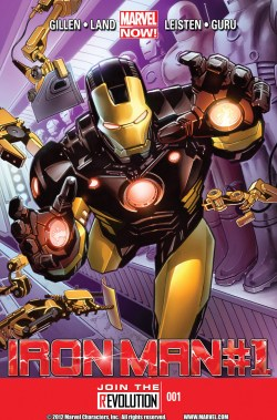 Marvel Now Iron Man