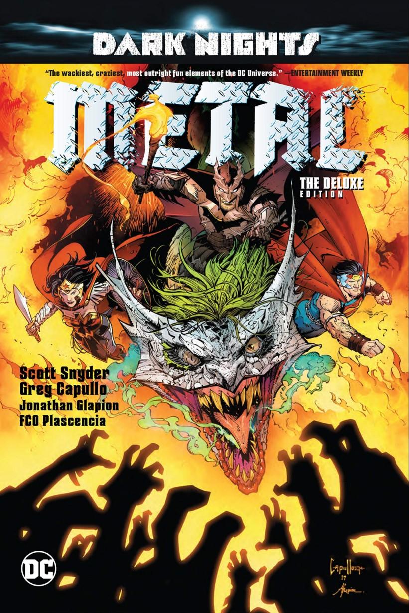 DC By SCOTT SNYDER /& GREG CAPULLO 2018 DARK KNIGHTS : METAL 2 3rd PRINT