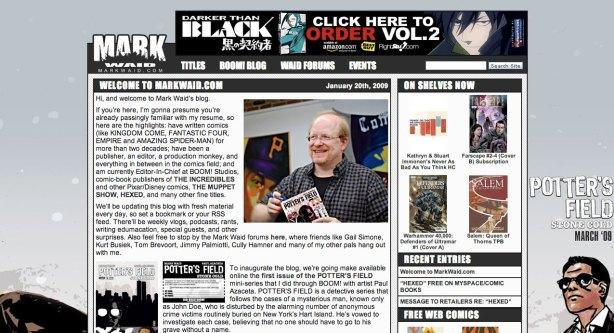 Boom! Studios Launches Markwaid.com