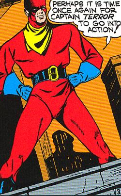 Le retour de Captain Terror... Et on ne savait même pas qu'il était parti !