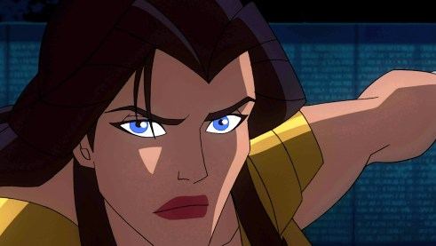 """Academy Award nominee Virginia Madsen provides the voice for Hippolyta, Queen of the Amazons, in """"Wonder Wonder,"""" the all-new DC Universe animated original movie set for distribution March 3, 2009 by Warner Home Video."""
