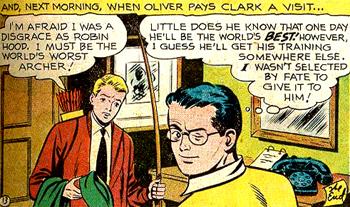 Clark complice du lecteur ?