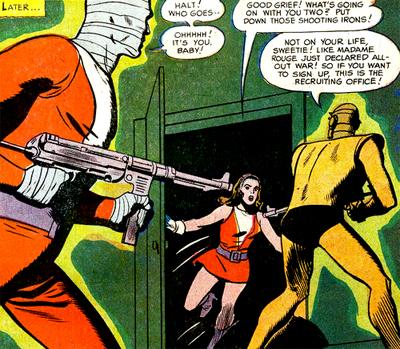 La Doom Patrol avec... des armes à feu. Aucune super-équipe n'aurait fait de même à l'époque.