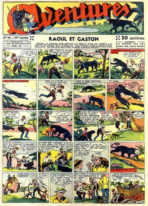 Aventures n°10 de 1939