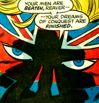 Captain Britain par Herb Trimpe