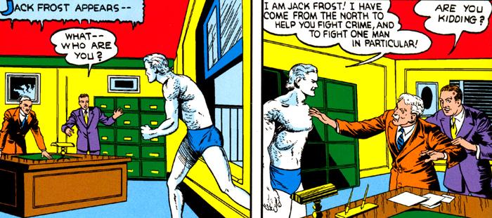 Premiers contacts entre Frost et la police... Dans une ambiance pas franchement amicale...