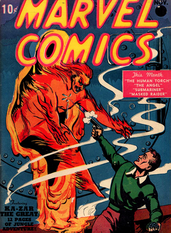 Marvel Comics #1 (Nov. 1939)